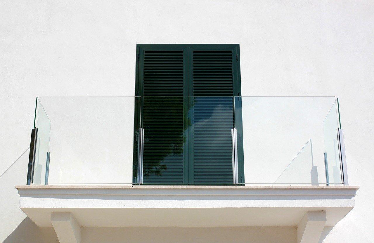 Balcon en verre