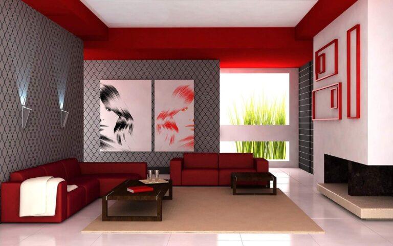 Murs rouges dans la maison : comment éviter les erreurs ?